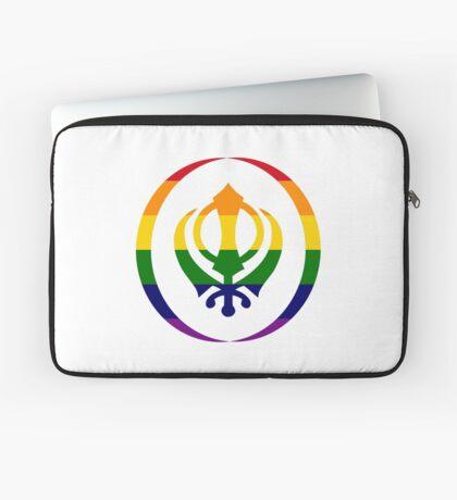 Sikh (Rainbow) Laptop Sleeve
