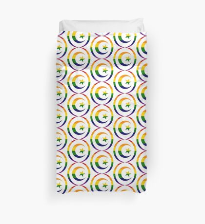 Muslim (Rainbow) Duvet Cover