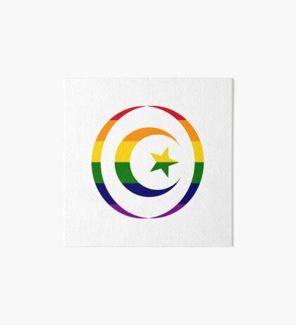 Muslim (Rainbow) Art Board