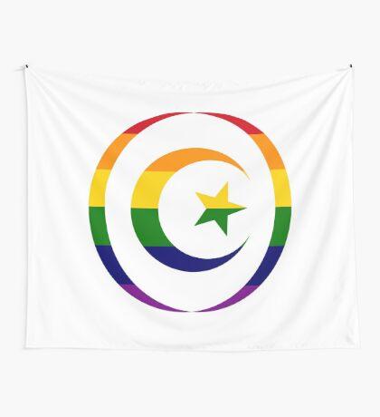 Muslim (Rainbow) Wall Tapestry