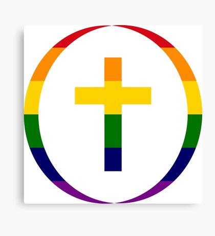 Christian (Rainbow) Canvas Print
