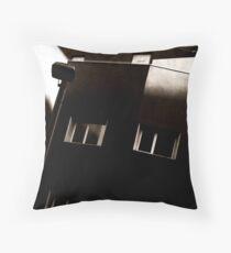 Fortress or modern housing Throw Pillow