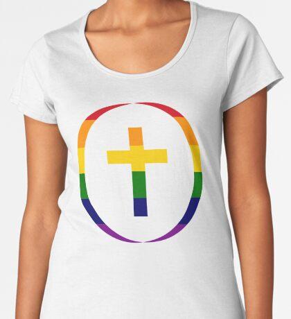 Christian (Rainbow) Women's Premium T-Shirt