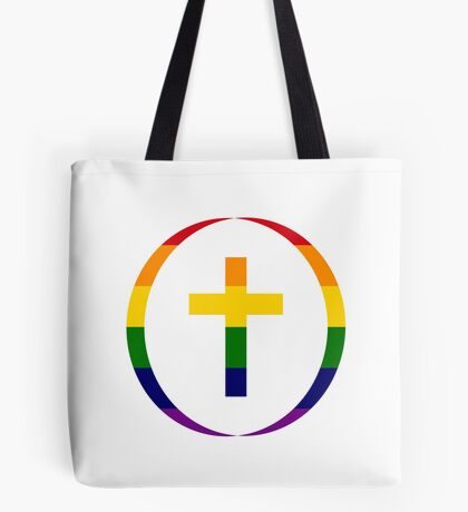 Christian (Rainbow) Tote Bag