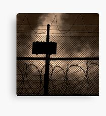 Fortress or safety assured Canvas Print