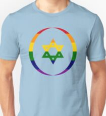 Jewish (Rainbow) Third Culture Series Slim Fit T-Shirt