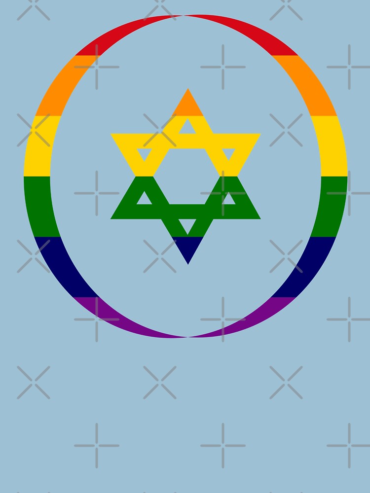 Jewish (Rainbow) Third Culture Series by carbonfibreme