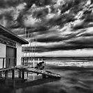 Long Jetty Boat Shed by Dave  Gosling Designs