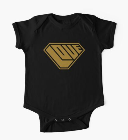 Love SuperEmpowered (Gold) Kids Clothes