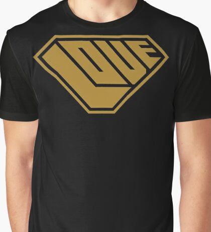 Love SuperEmpowered (Gold) Graphic T-Shirt