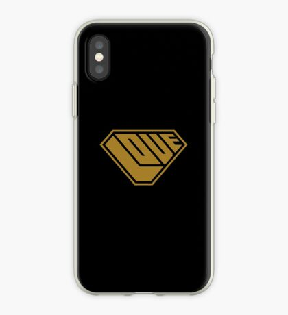 Love SuperEmpowered (Gold) iPhone Case
