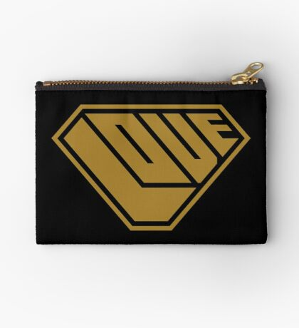 Love SuperEmpowered (Gold) Zipper Pouch