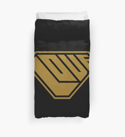 Love SuperEmpowered (Gold) Duvet Cover
