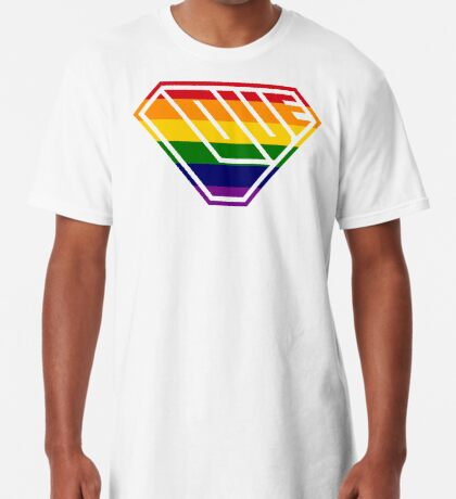 Love SuperEmpowered (Rainbow) Long T-Shirt