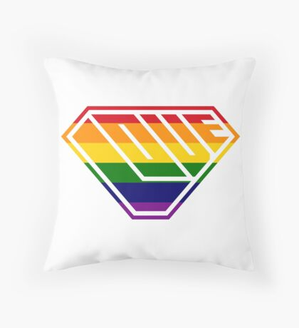 Love SuperEmpowered (Rainbow) Floor Pillow