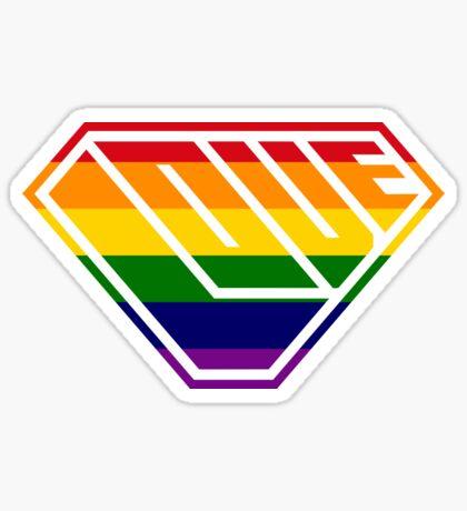 Love SuperEmpowered (Rainbow) Sticker