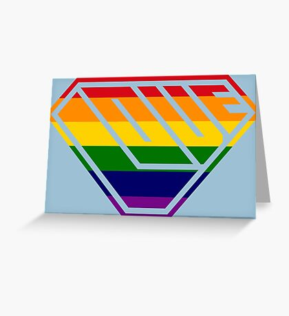 Love SuperEmpowered (Rainbow) Greeting Card