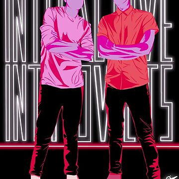 Dan and Phil Interactive Introverts by art-ic-monkeys
