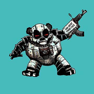 Pandapoppolis - The Robot Panda by StabbedPanda