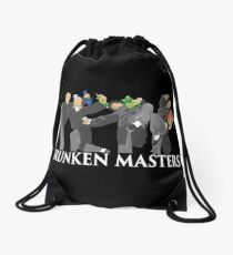 The Four Masters (White Lettering) Drawstring Bag