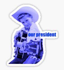 Mason Ramsey - our president - yodeling boy Sticker