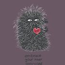 Embrace You Inner Porcupine #DARK by INKfootprints