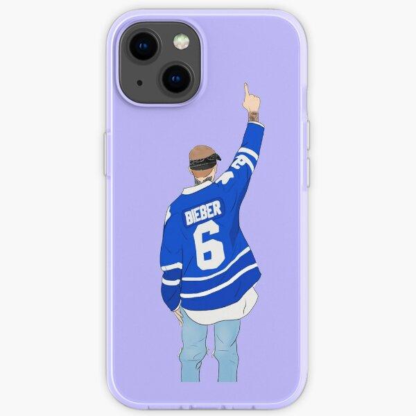 Justin Blau iPhone Flexible Hülle