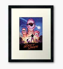 THE DEADLY SPAWN Framed Print