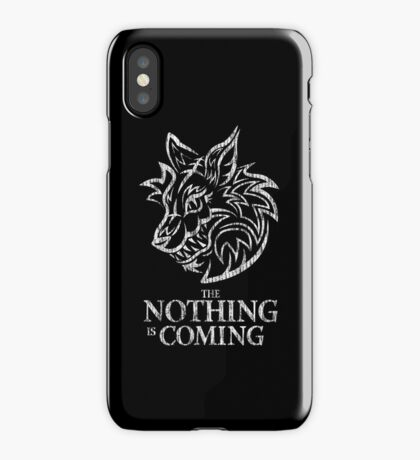 The Nothing (white) iPhone Case