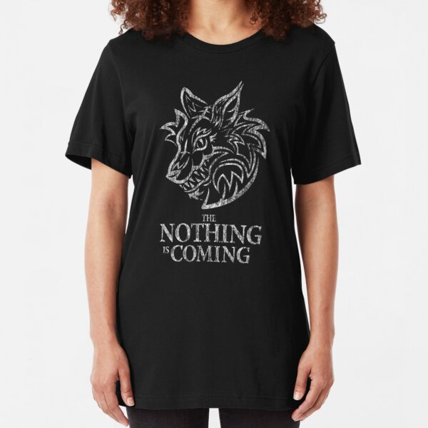 The Nothing (white) Slim Fit T-Shirt