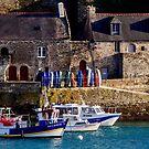 Le Conquet, der alte Hafen von Jean-Luc Rollier