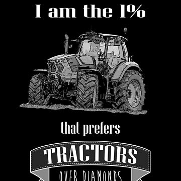 The 1% that loves tractors (inverted) by Angrahius