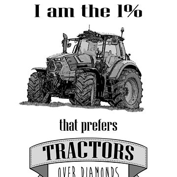 The 1% that loves tractors by Angrahius