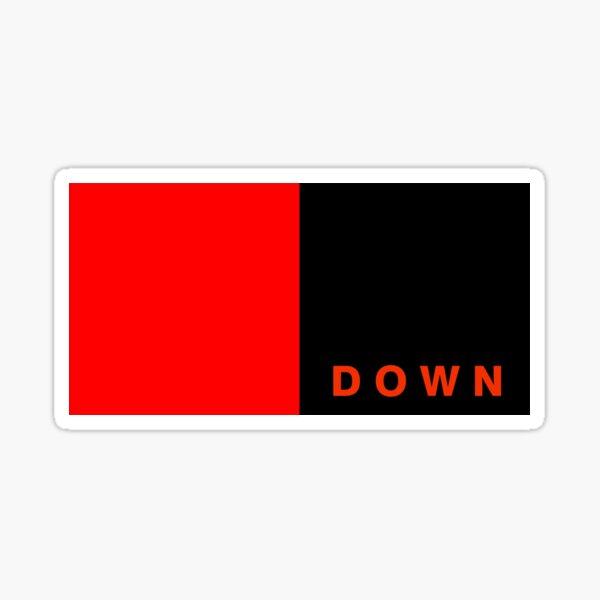 Down county flag Sticker