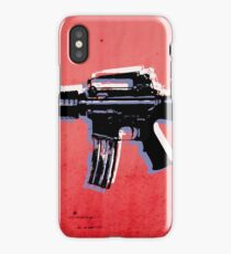 M16 Assault Rifle on Red iPhone Case