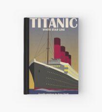 Titanic Ocean Liner Art Deco Print Hardcover Journal