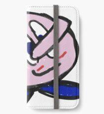 Pink Jiggle Man iPhone Wallet/Case/Skin
