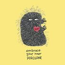 Embrace You Inner Porcupine #LIGHT by INKfootprints