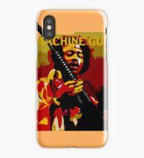 Hendrix Machine Gun iPhone Case