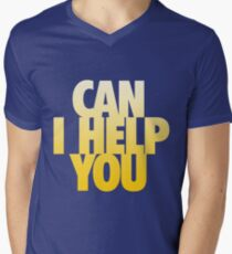 Can I Help You Men's V-Neck T-Shirt