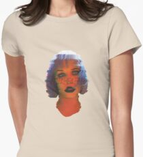 Glass Glitch Women's Fitted T-Shirt