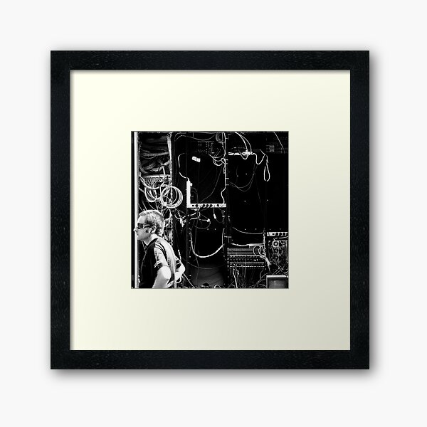 There's no problem. We're connected. Framed Art Print