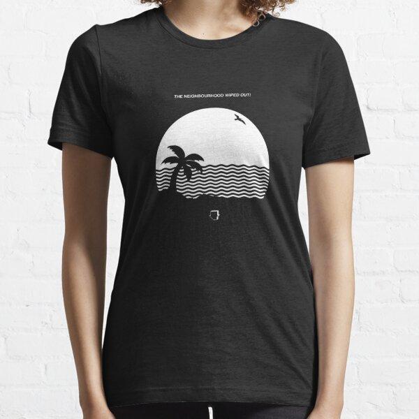 el barrio borró la portada del álbum Camiseta esencial