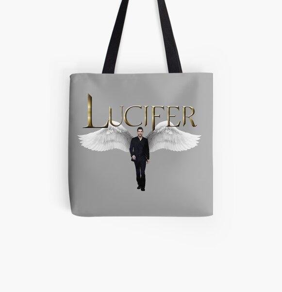 Lucifer Morningstar Bolsa estampada de tela