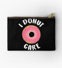 I Donut Care  Studio Pouch