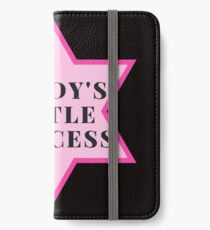 Daddy's little princess  iPhone Wallet/Case/Skin