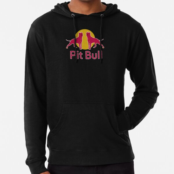 Red Pit Bull Tee Shirt Gifts Lightweight Hoodie