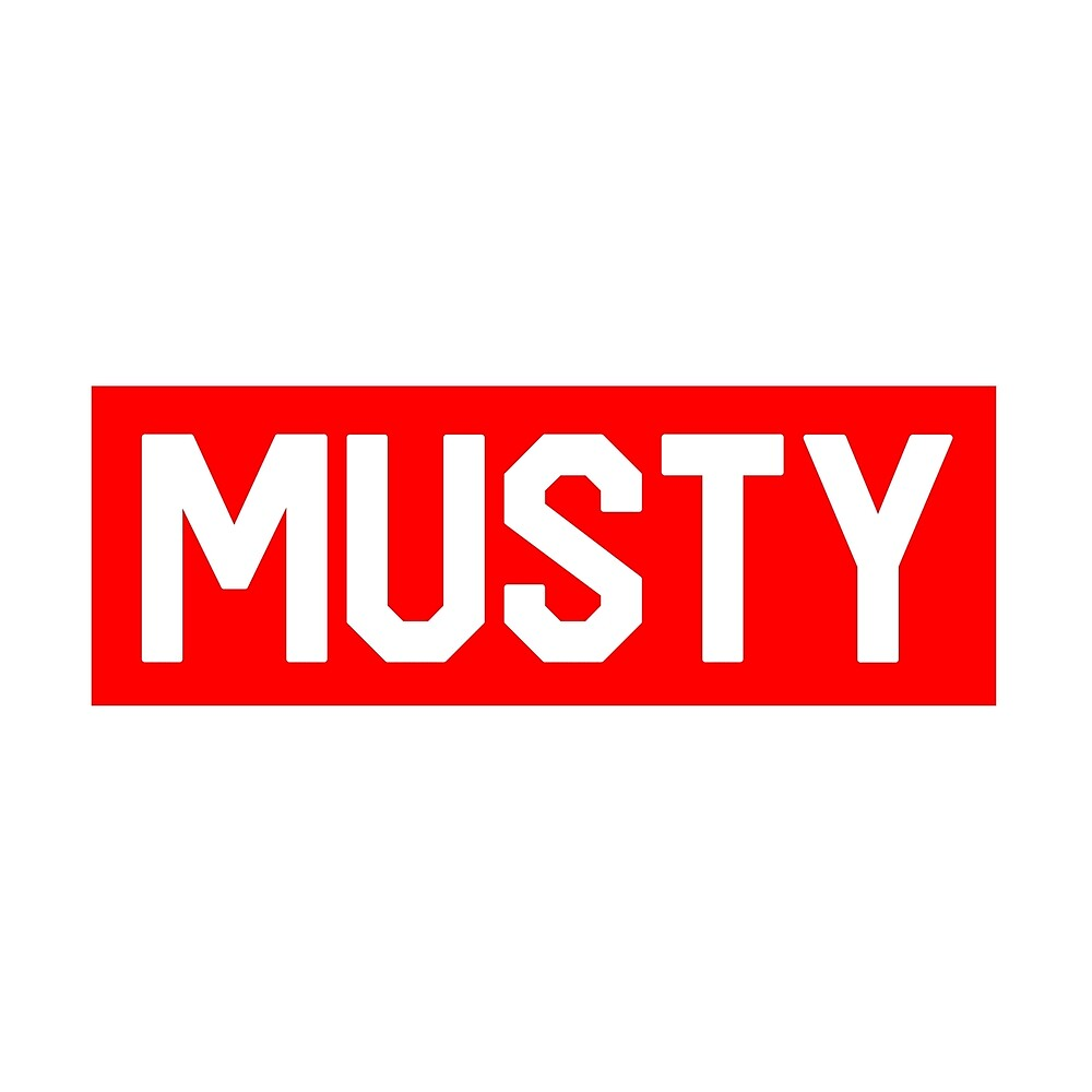 Musty - Shoreline Mafia - Red Box Logo - BOGO by Wave Lords United