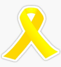 Llaços grocs Sticker