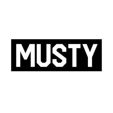 Musty - Black box logo - Shoreline Mafia by Wavelordsunited